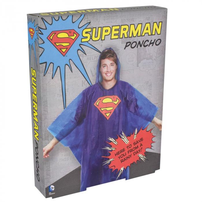 Poncho de ploaie Superman [1]