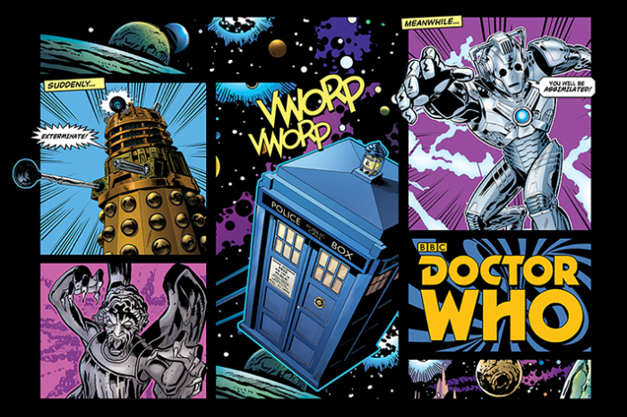 Poster Doctor Who 0