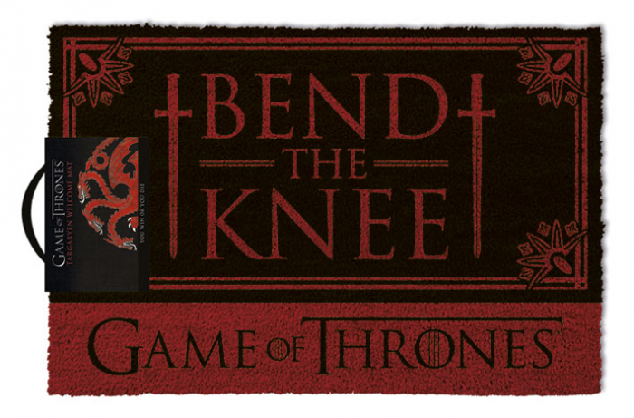 Pres intrare Game of Thrones - Bend the Knee 0