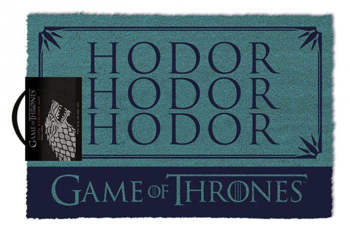 Pres intrare Game of Thrones - Hodor 0