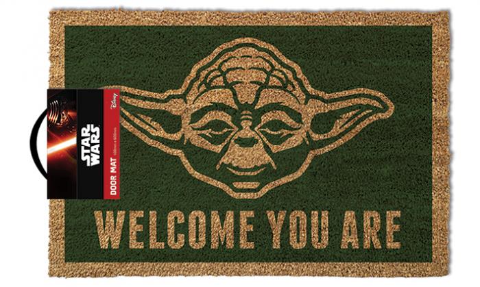 Pres intrare Yoda