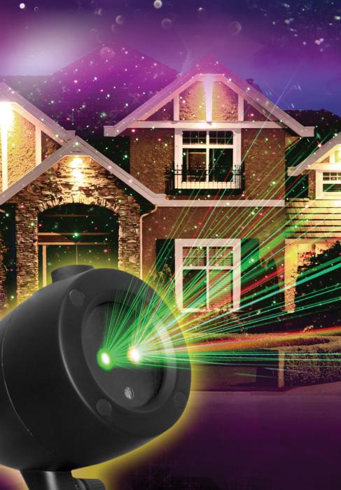 Proiector cu laser pentru exterior