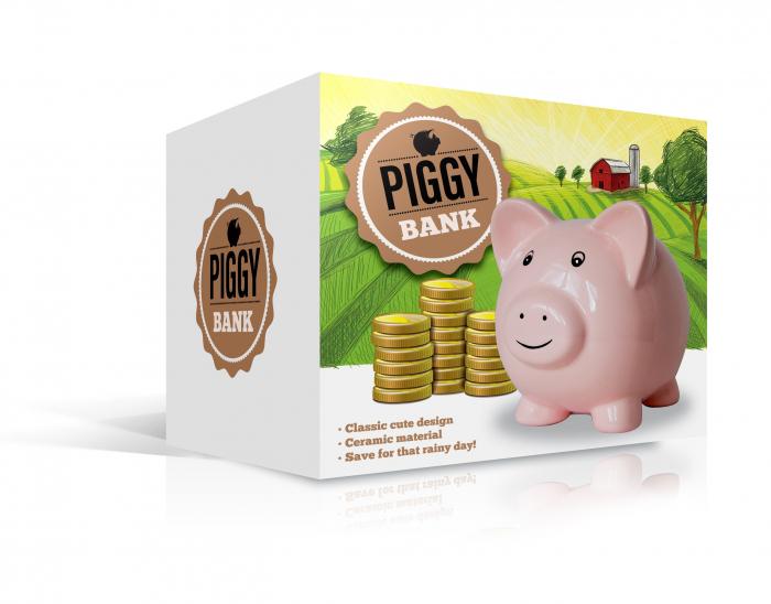 Pusculita Piggy 1