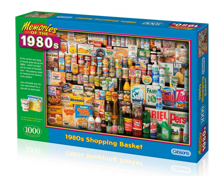 Puzzle 1000 piese - Cumparaturile anilor 1980 0
