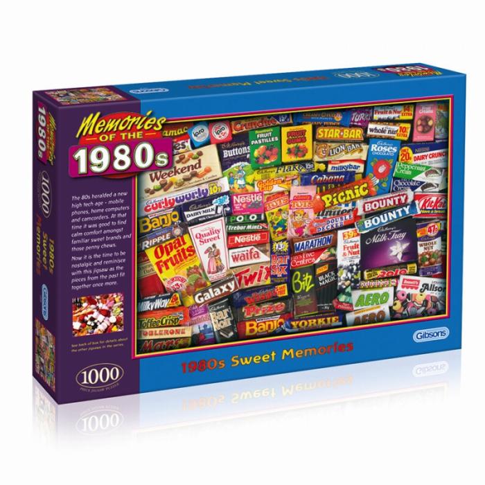 Puzzle 1000 piese - Dulciurile anilor 1980