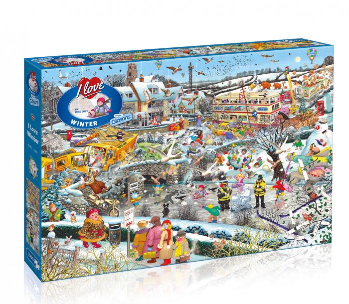 Puzzle 1000 piese - Magia zapezii 0