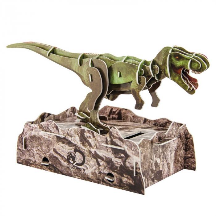 Puzzle 3D Discovery - Anatomia Dinozaurului T-Rex 1
