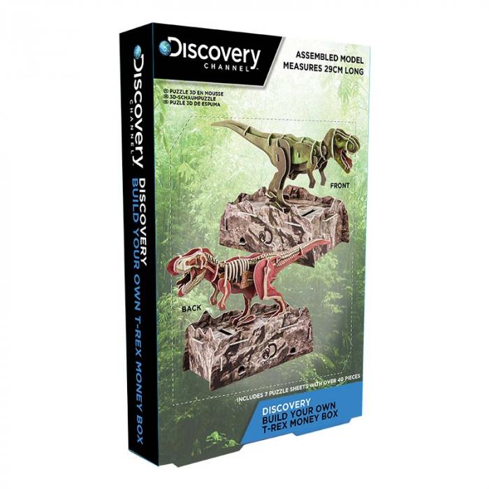 Puzzle 3D Discovery - Anatomia Dinozaurului T-Rex 2