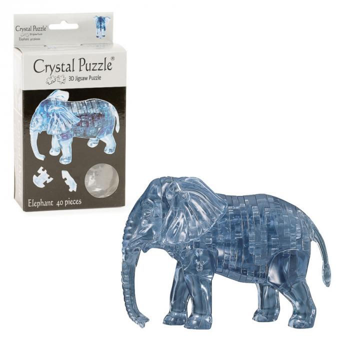 Puzzle 3D - Elefant [0]