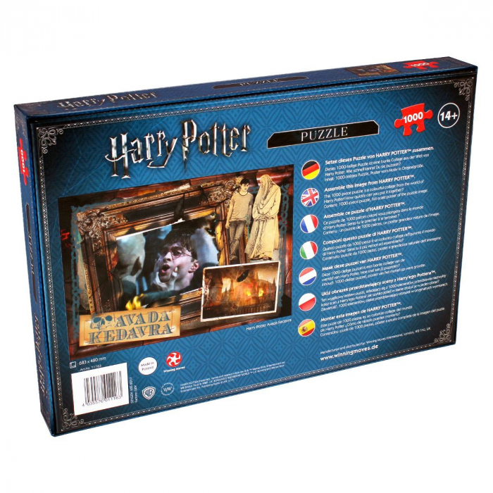 Puzzle Harry Potter 1000 piese - Avada Kedavra 2