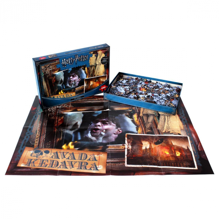 Puzzle Harry Potter 1000 piese - Avada Kedavra 1