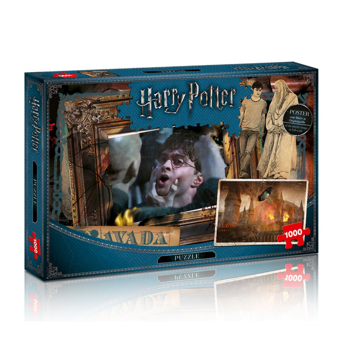 Puzzle Harry Potter 1000 piese - Avada Kedavra 0