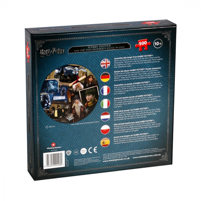 Puzzle Harry Potter 500 piese - Piatra Filozofala 1