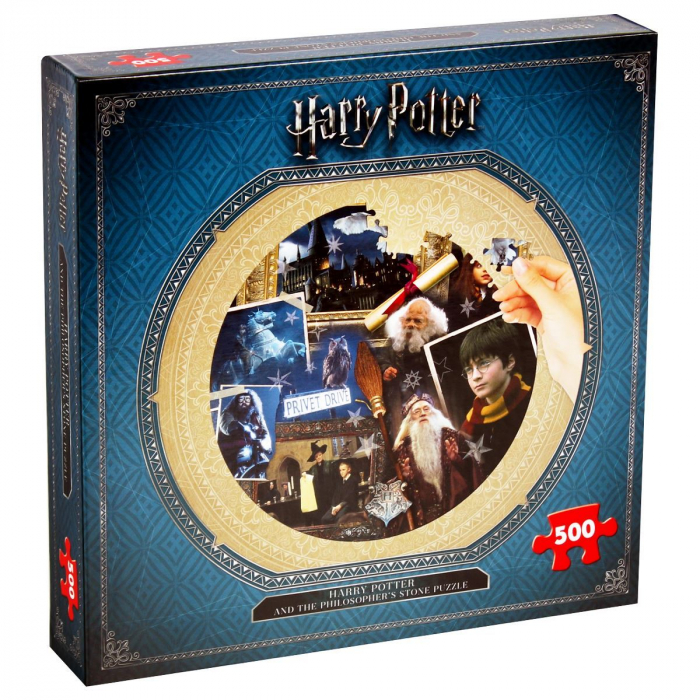 Puzzle Harry Potter 500 piese - Piatra Filozofala 0