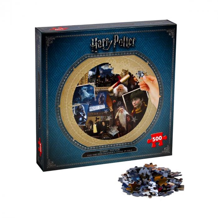 Puzzle Harry Potter 500 piese - Piatra Filozofala 2