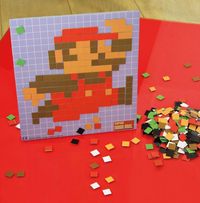 Puzzle pixelat Super Mario 0
