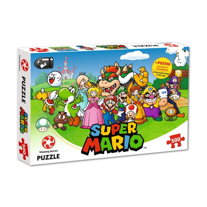 Puzzle Super Mario 500 piese - Friends [0]