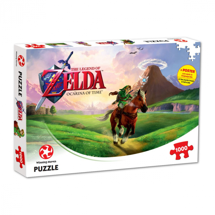 Puzzle The Legend of Zelda 1000 piese - Ocarina of Time