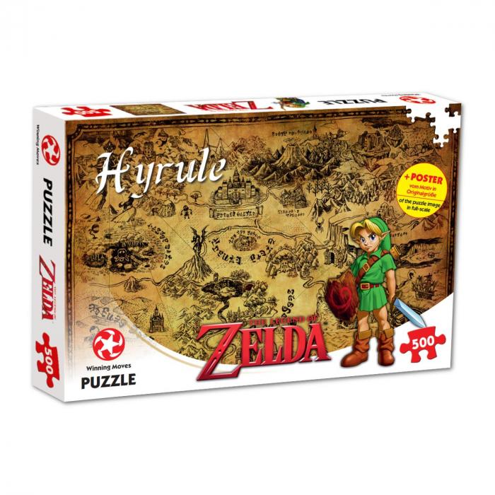 Puzzle The Legend of Zelda 500 piese - Hyrule Field 0
