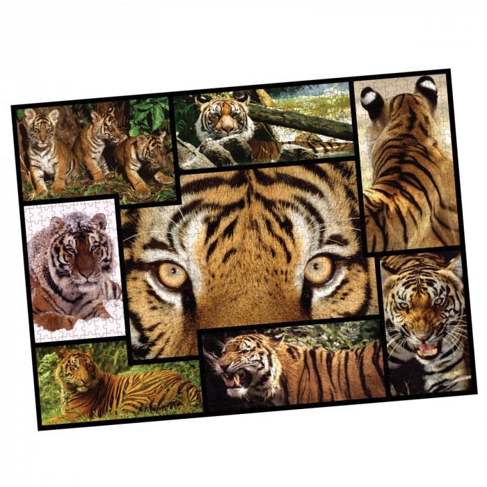 Puzzle WWF 1000 piese - Tigru 1
