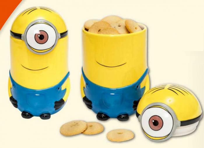 Recipient pentru prajituri Minions 1