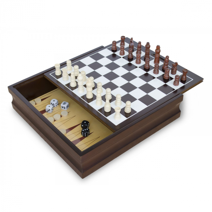Set 10 jocuri cutie lemn 0