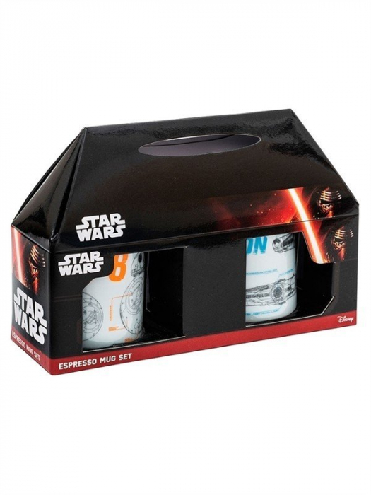 Set 2 cesti espresso Star Wars 1