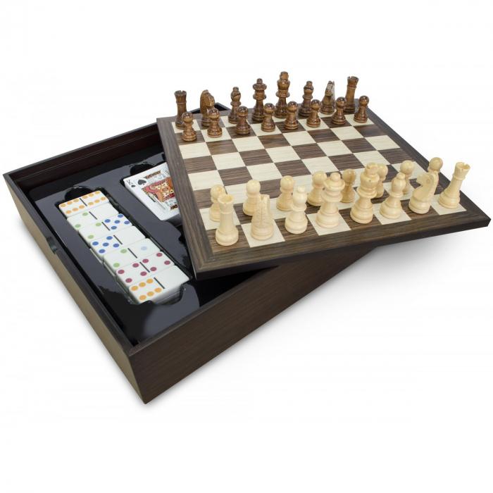 Set 5 jocuri cutie lemn 0