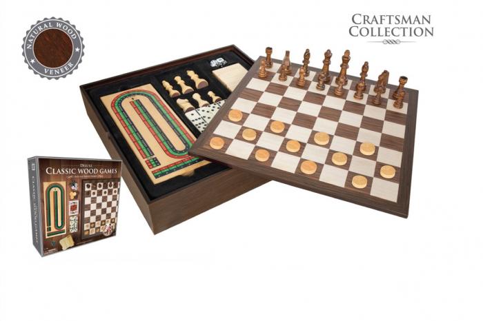Set 7 jocuri cutie lemn 0