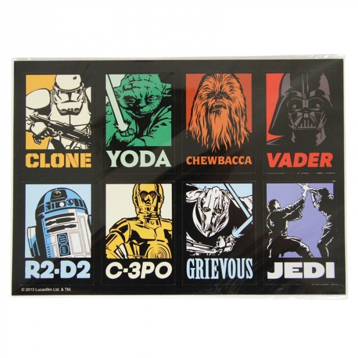 Set 8 magneti Star Wars 0
