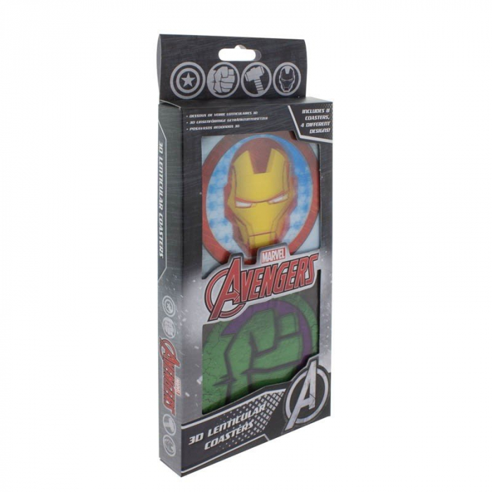 Set 8 suporturi pahar Marvel 1