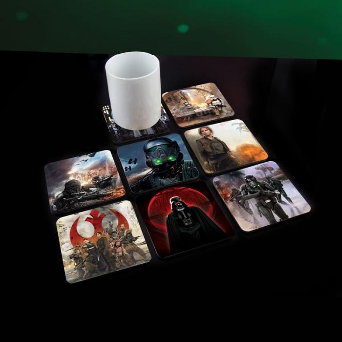 Set 8 suporturi pahar Rogue One 0