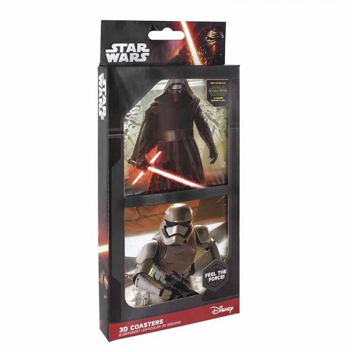 Set 8 suporturi pahar Star Wars 2