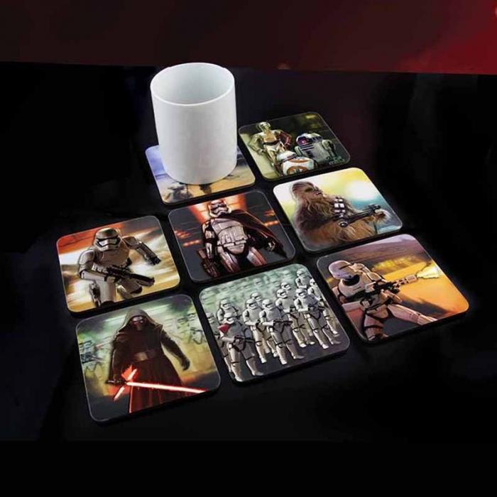 Set 8 suporturi pahar Star Wars 0