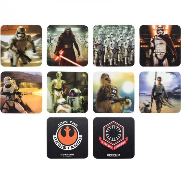 Set 8 suporturi pahar Star Wars 1