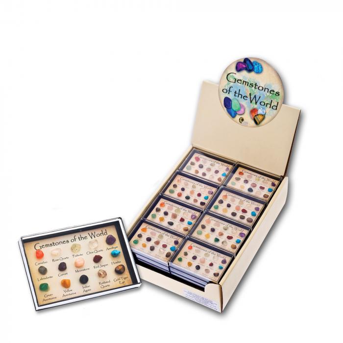 Set cadou 12 pietre semipretioase 0