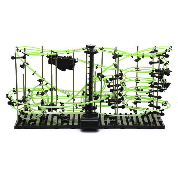 Set constructie Roller Coaster Fosforescent - Nivelul 4 1