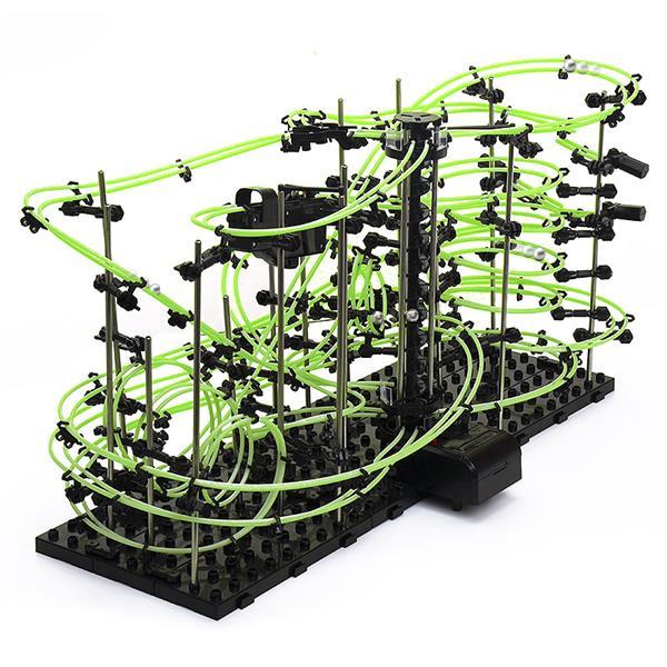 Set constructie Roller Coaster Fosforescent - Nivelul 4 0