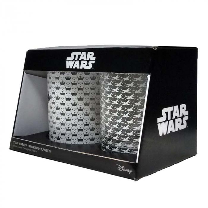 Set doua pahare Star Wars 1