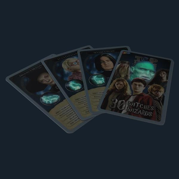 Set joc Top Trumps Harry Potter Witches & Wizards 3
