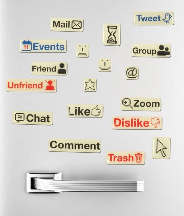 Set magneti Social Media 0