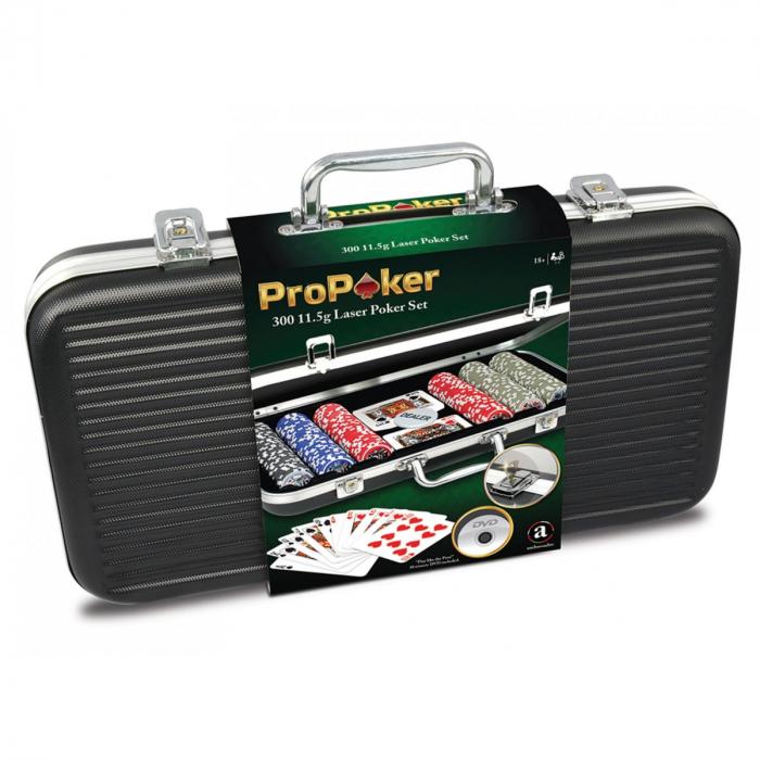 Set Poker cu 300 jetoane inscriptionate 1