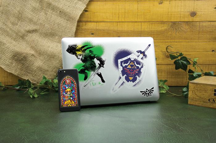 Set stickere Hyrule - The Legend of Zelda 0