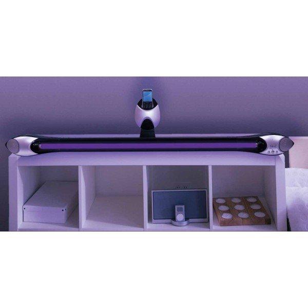 Sistem boxe stereo cu lumina neagra 2
