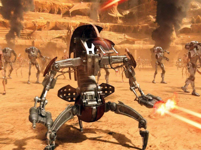 Star Wars - Destroyer Droid 1