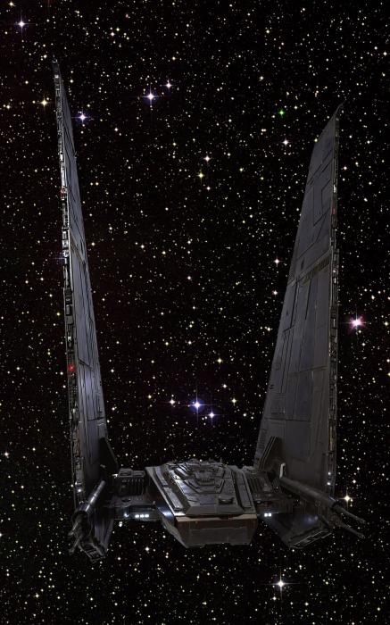 Star Wars - Kylo Ren's command shuttle [3]