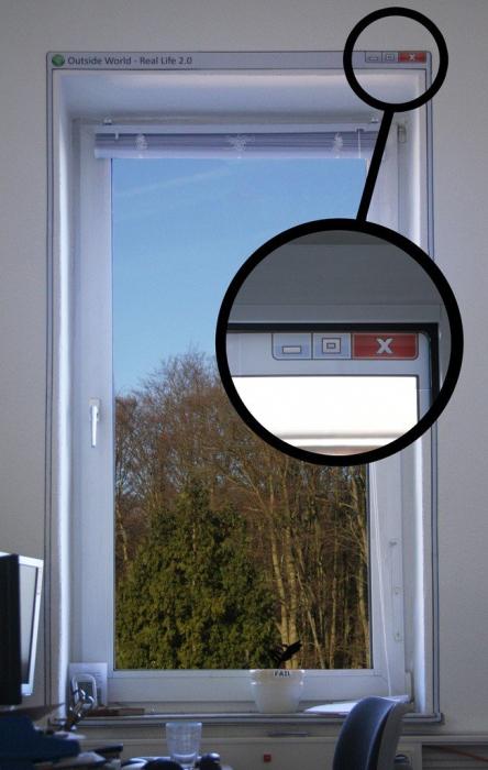 Sticker perete - Windows [0]