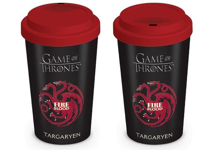 Termos ceramic Game of Thrones - Casa Targaryen