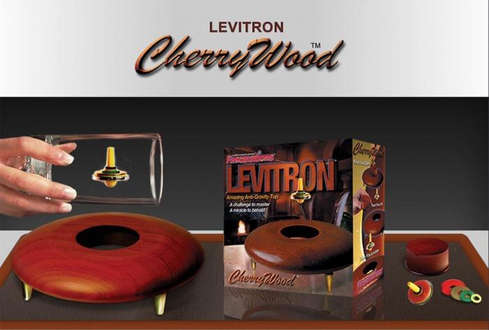 Titirez care leviteaza - Levitron CherryWood 2