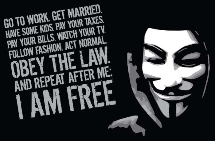 Tricou Anonymous [0]